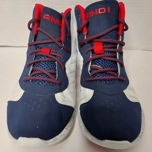 And 1 high top basketball sneakers
